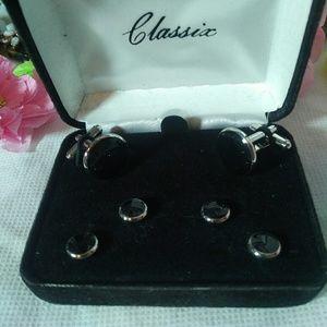 Men's cufflink set from Classic
